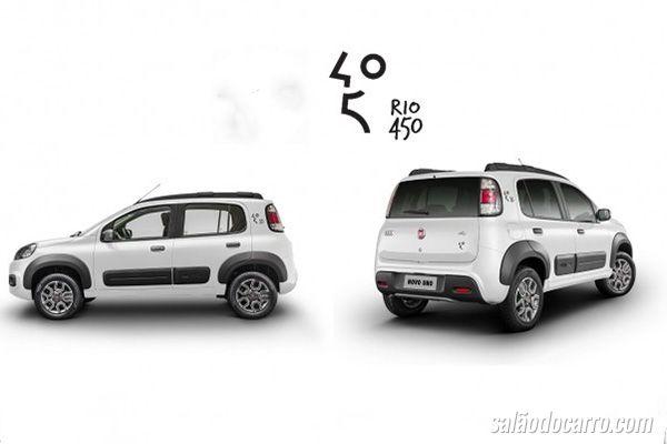 Fiat Uno homenageia o Rio de Janeiro