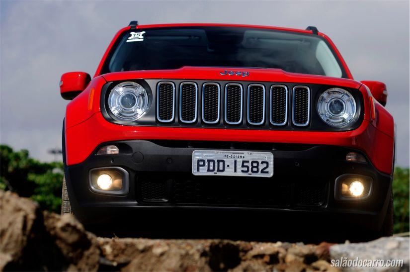 Renegade segue identidade visual da linha Jeep