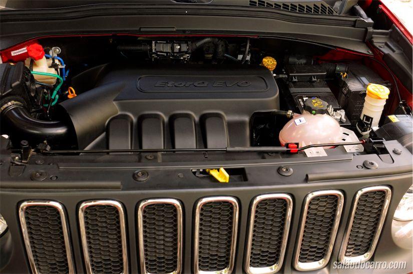 Sob o capô do Jeep Renegade