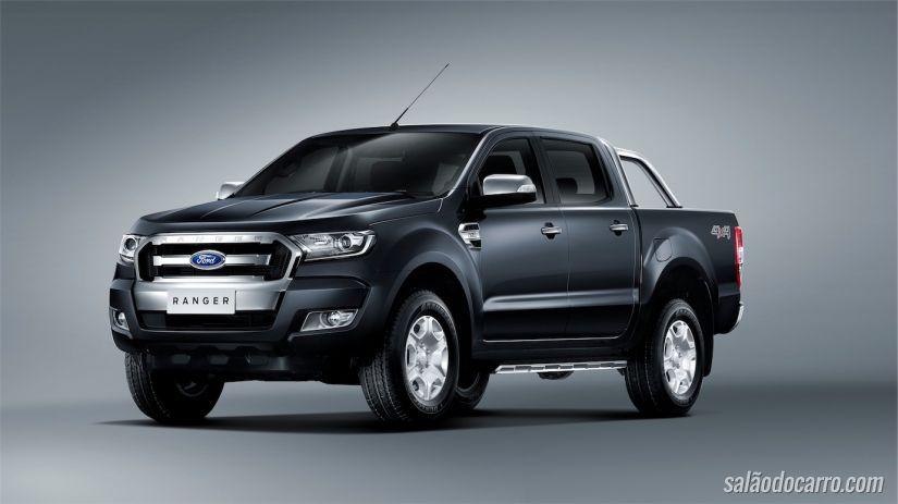Nova frente da Ford Ranger