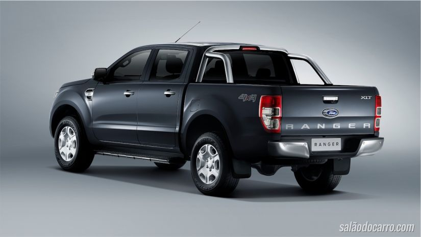 Nova Ford Ranger foi apresentada na Tailândia