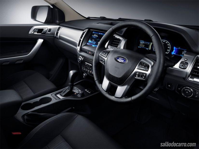 Interior da nova Ford Ranger