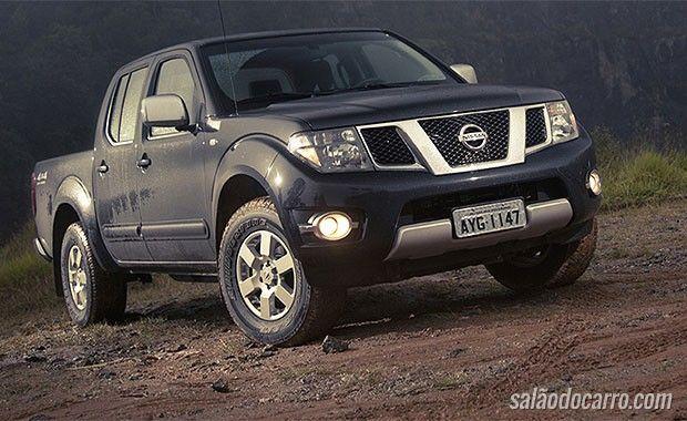 Nissan Frontier Central Multimídia