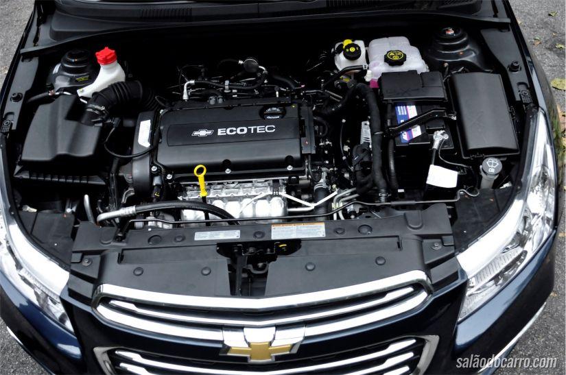 Motor não sofreu mudanças, continua com os mesmos 144cv (com etanol)
