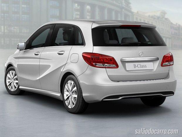 Mercedes traz ao Brasil sua minivan B200 renovada por R$ 128.900