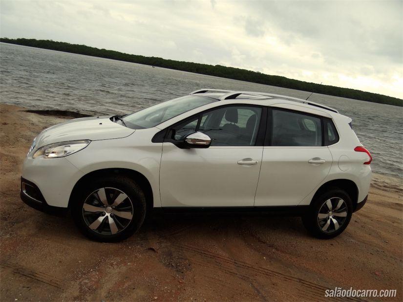 Peugeot 2008 vai brigar por uma fatia do mercado