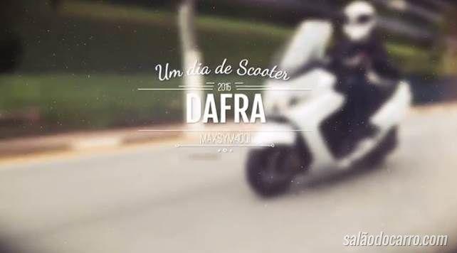 Um dia de scooter