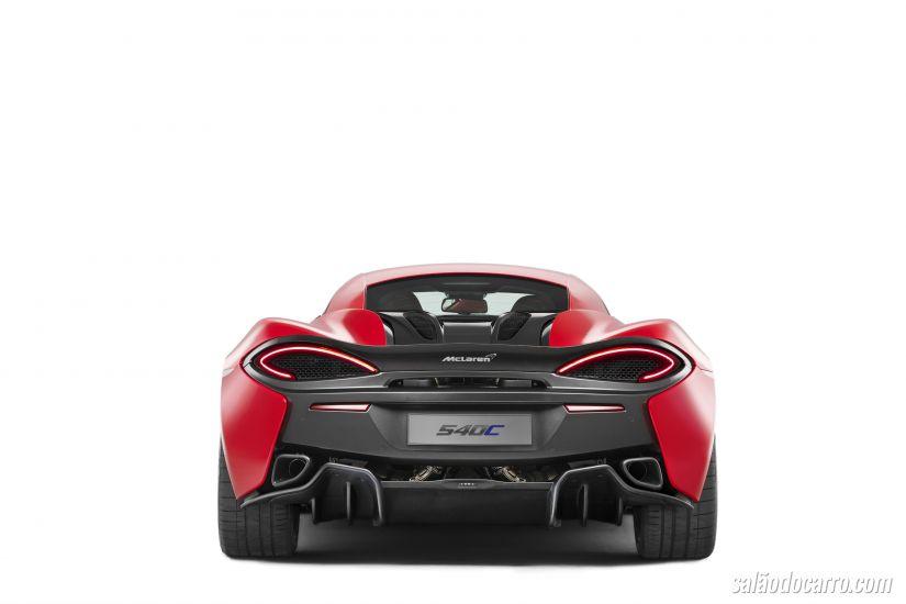 McLaren apresenta o superesportivo 540C