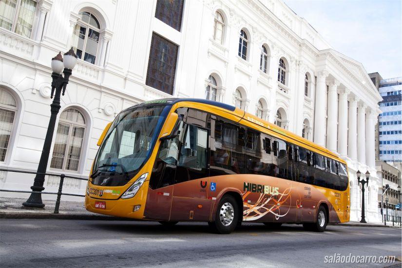 Volvo Hibribus em Curitiba