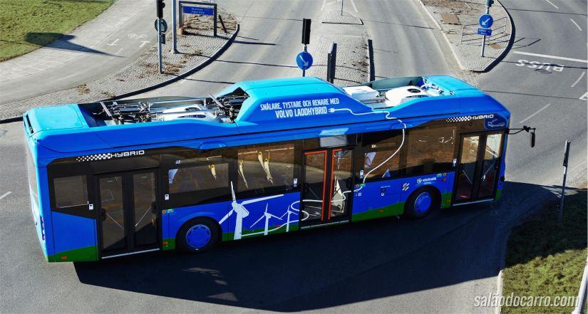 Ônibus Volvo Elétrico