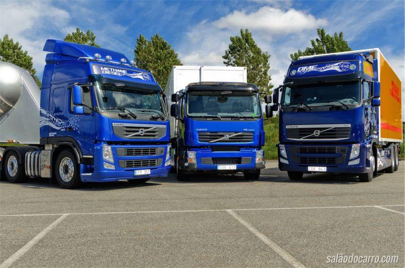 Volvo FM, FE e FH Hybrid