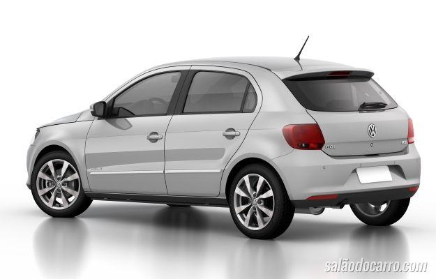 VW Gol e Voyage chegam à linha 2016