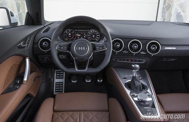 Audi lança versão de entrada do TT com motor 1.8 de 180cv