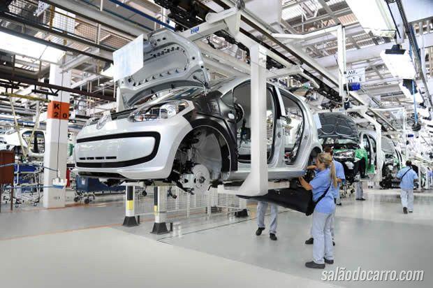 Volkswagen up! bate 100 mil unidades produzidas no Brasil