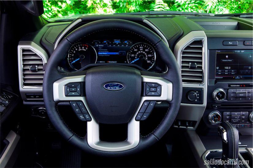 Interior da nova Ford F-150