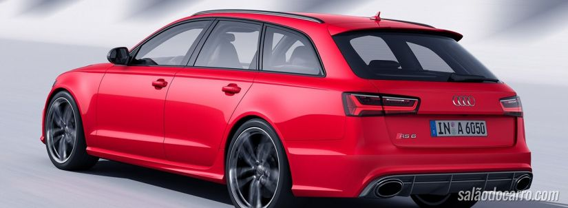 Audi lança RS6 Avant no Brasil