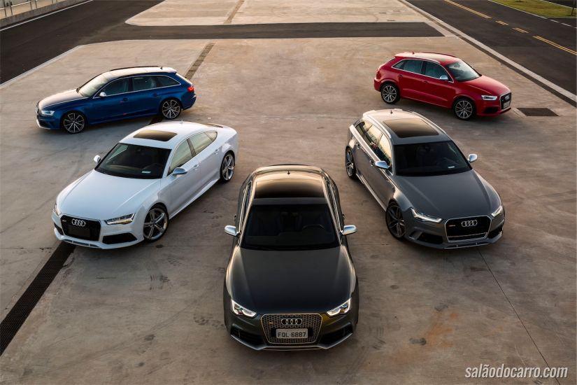 Linha RS da Audi