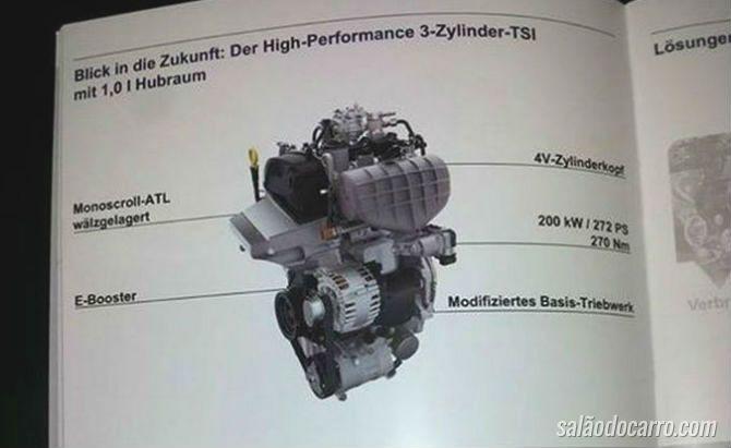 Novo motor da Volkswagen chega com 272 cavalos