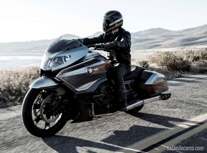 BMW Concept 101: uma moto conceito de arrasar