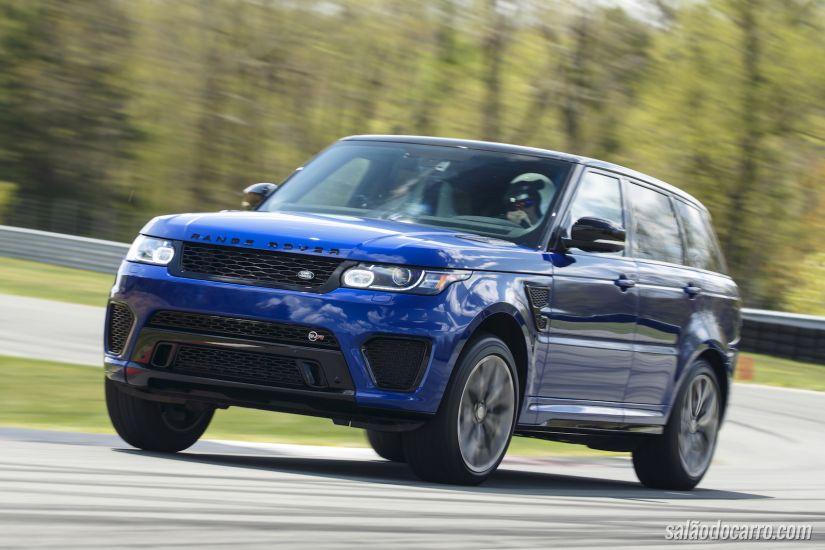 Land Rover traz o novo SVR ao Brasil