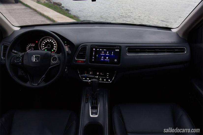 Interior do Honda HR-V EXL