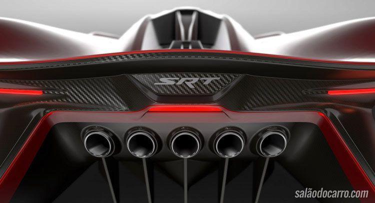 FCA apresenta o SRT Tomahawk Vision Gran Turismo
