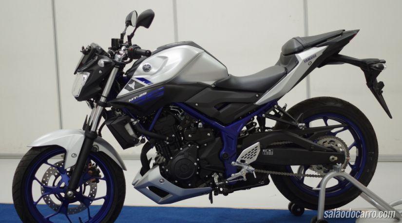 Yamaha MT-25 chega com 36 cv
