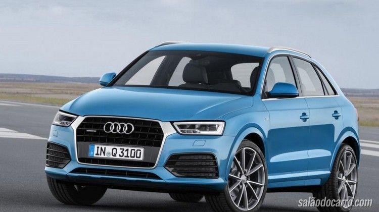 Novo Audi Q3 vem com motor 1.4 TFSI