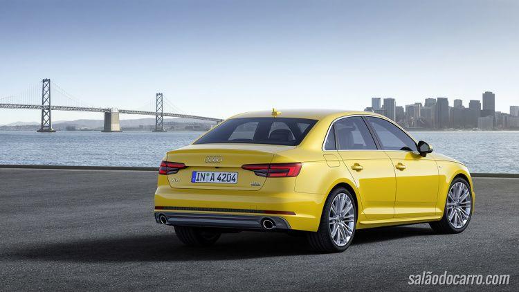 Audi lança novo A4 2016