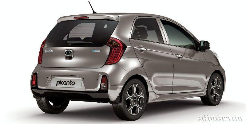 Novo Kia Picanto chega por R$ 46.900