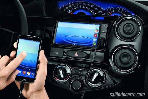 Toyota Etios traz novo sistema multimídia