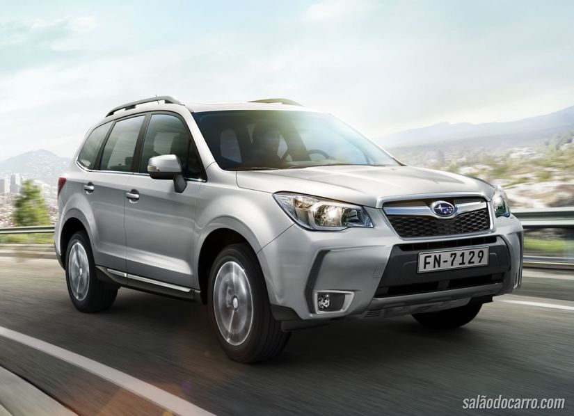 Subaru inicia vendas da linha 2016