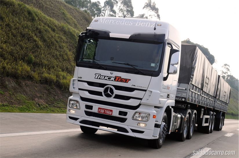 Mercedes-Benz Actros Megaespace Plus