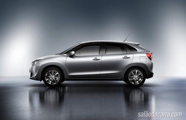 Suzuki revela novo Baleno hatch