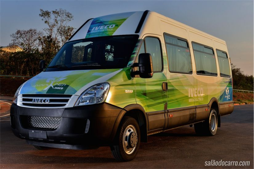 Iveco Daily Minibus Elétrico