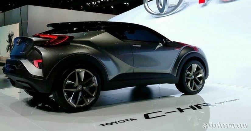 Toyota mostra conceito C-HR em Frankfurt