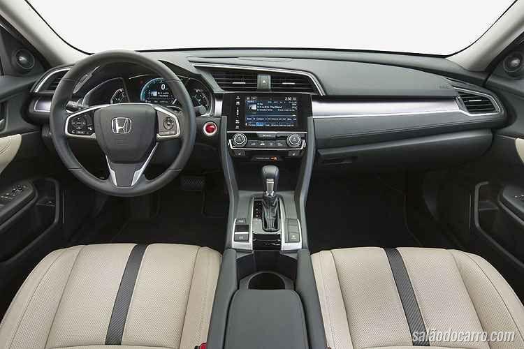 Novo Civic terá motor 1.5 turbo