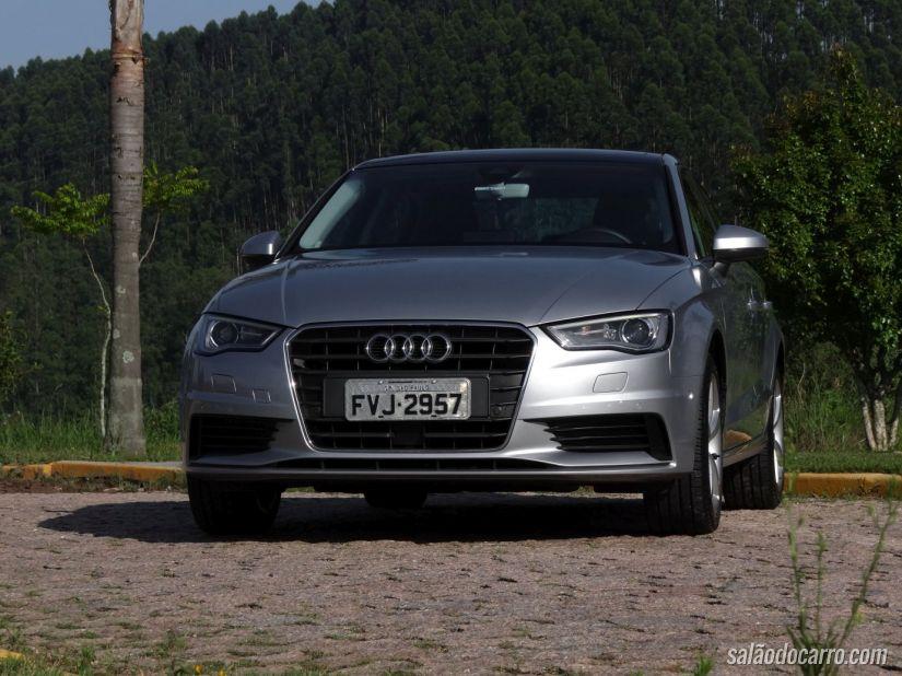 Audi A3 sedã produzido no Brasil
