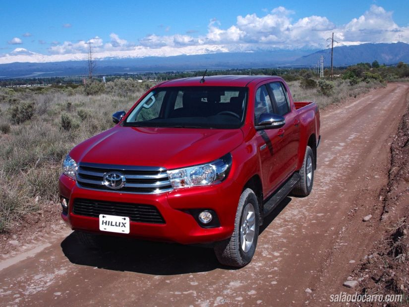 Nova Toyota Hilux SRV