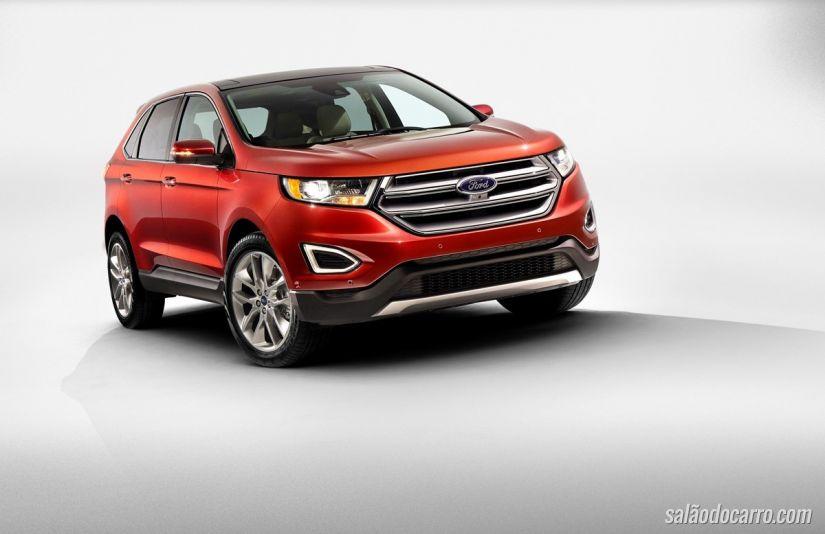 Ford confirma novo Edge para 2016