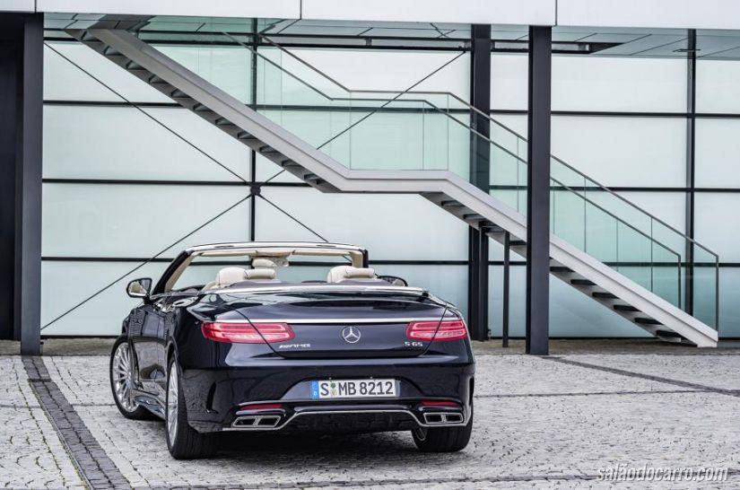 Mercedes-AMG S65 Cabriolet chega com 630 cv