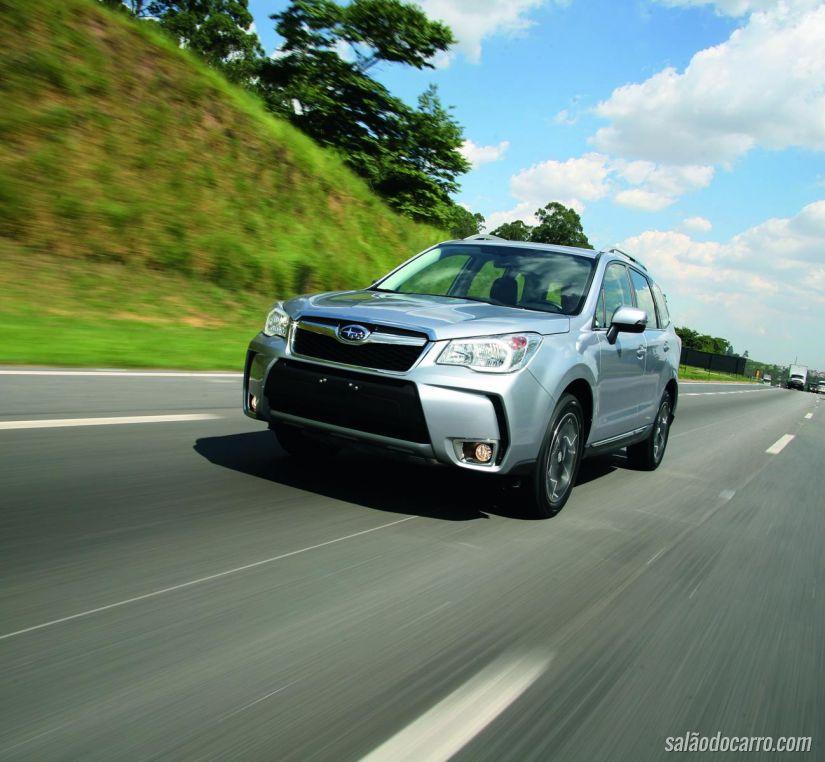 Subaru Forester S e XT sofre recall