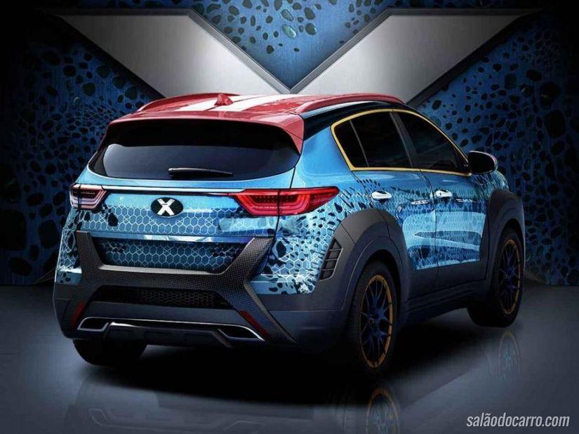 Kia Sportage versão X-Men? Entenda!