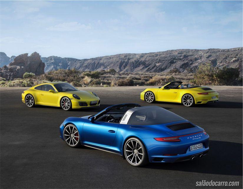Porsche 911 Carrera e Targa