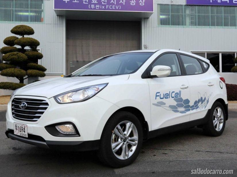 Hyundai estuda lançar carro movido a hidrogênio com 800 km de autonomia
