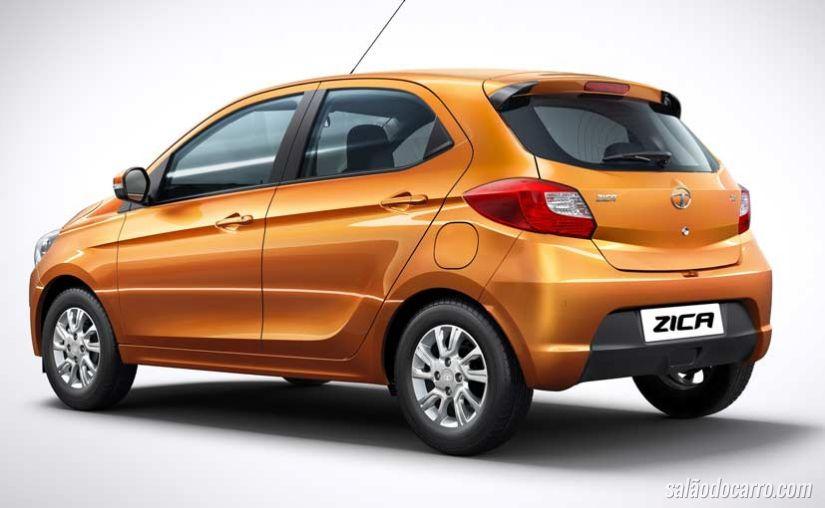 Tata Motors lançar o hatch Zica