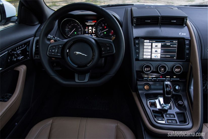 Jaguar F-Type S cupê