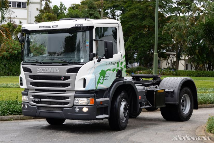 Scania P270 movido a etanol