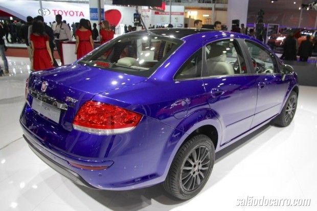 Fiat Linea ganha visual esportivo