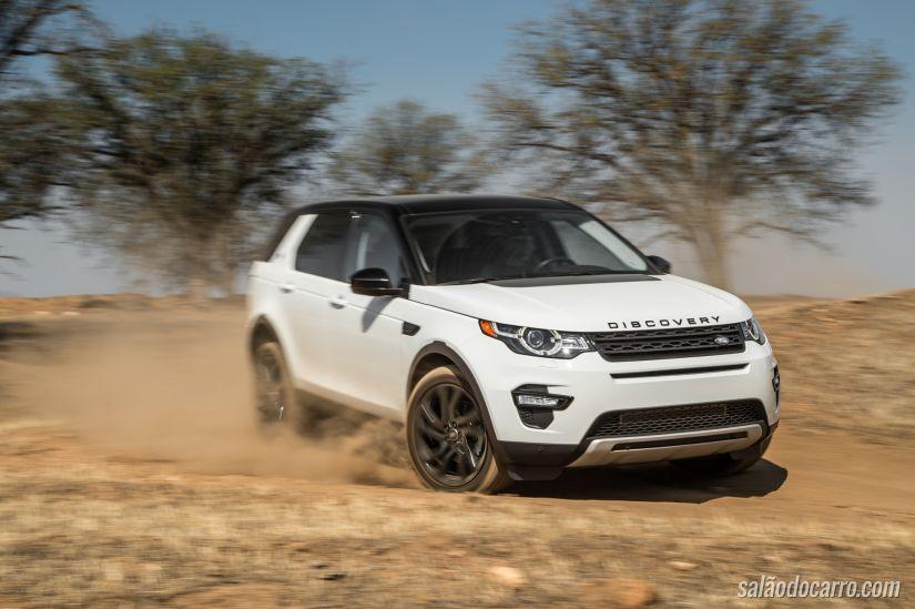Jaguar Land Rover comemora aumento nas vendas em Janeiro